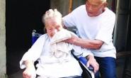 长寿夫妻相濡以沫79年 年龄加起来有199岁