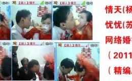 情天(杨海军)、忧忧(苏晓琳)网络婚礼(2011.6.19)(精编版)