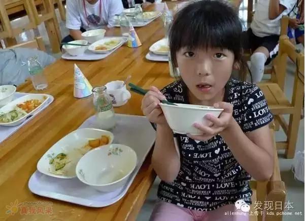 一顿午餐看出中日孩子的差距在何处