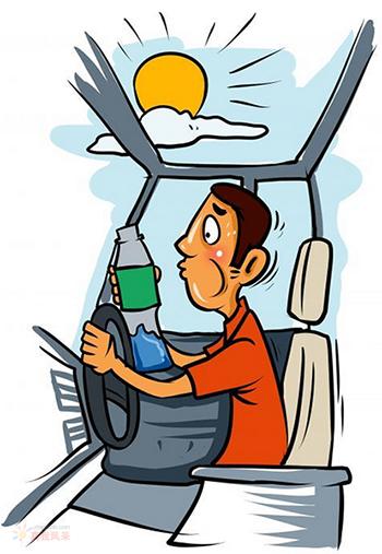 夏季在车内被暴晒的瓶装饮用水能致癌吗?