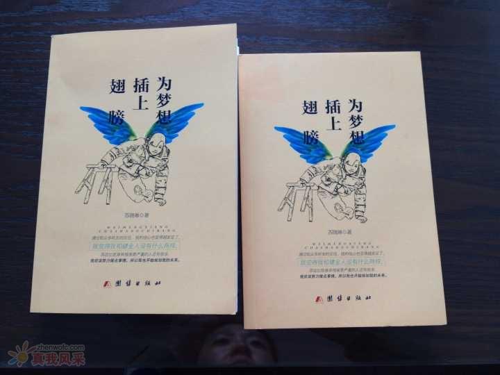 苏晓琳自传《为梦想插上翅膀》购买方式